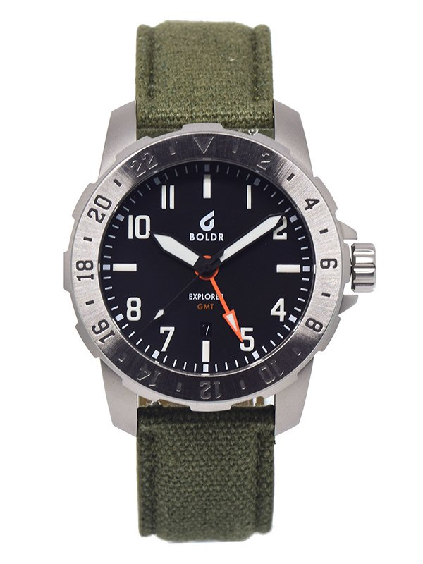 【BOLDR;ボールド】Explorer GMT (Steel)