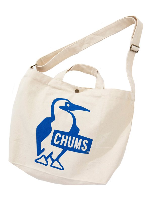 【CHUMS】 Booby Canvas Shoulder (BLUE)