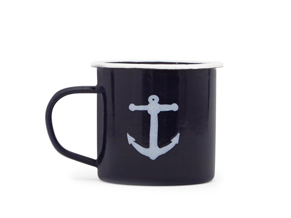 【IZOLA】Maritime Enamel Mug