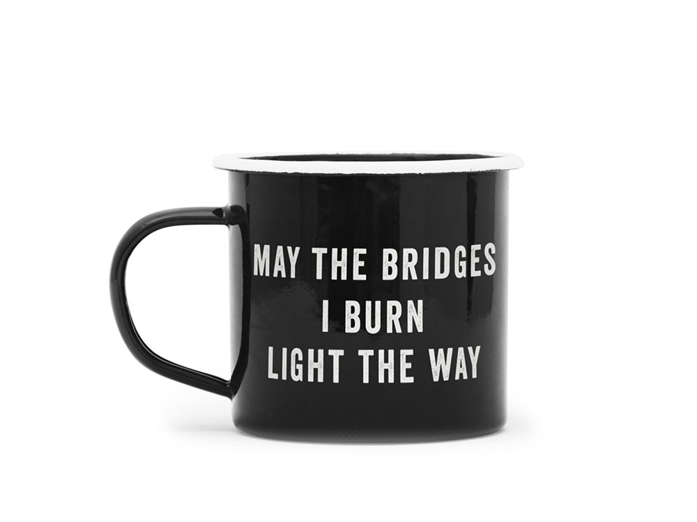【IZOLA】Bridges Enamel Mug