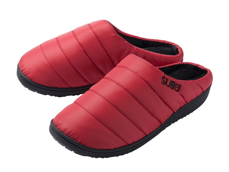 【SUBU : スブ】 Winter sandals (Red)