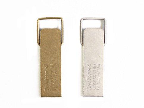 【Tiny Formed : タイニーフォームド】 Tiny metal key clip