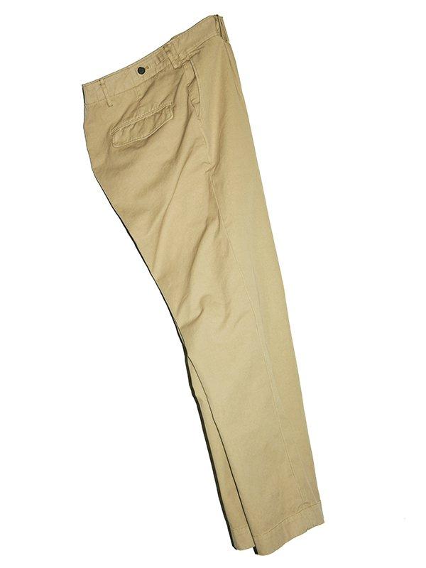 【BENINE】100/3/2 Dead stock oxford chino pants