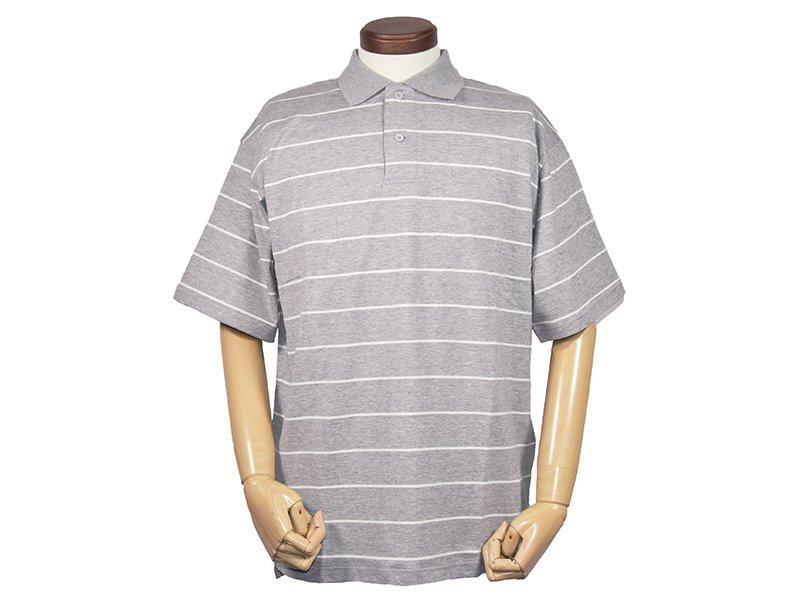 【mocT ;モクティー】Border  Polo shirts
