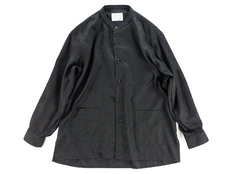 【 Varde77 】 BANDANA JACQUARD SHIRTS (BLACK)