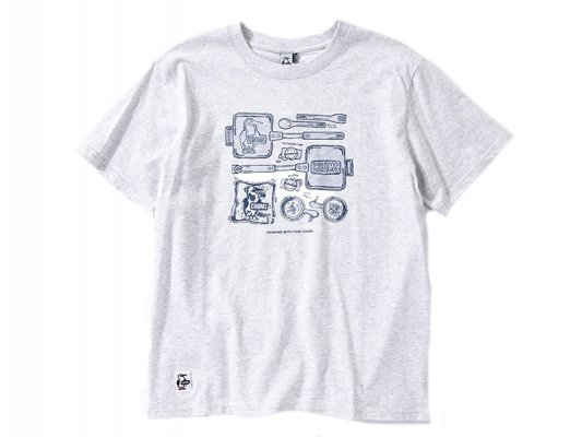 【CHUMS】 Camp Kitchenware T-Shirt