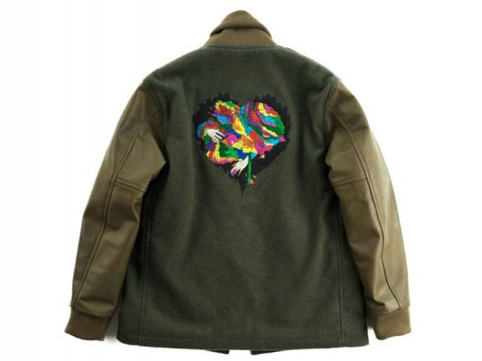 【Varde77】JUNKIE HEART STUDIUM JACKET