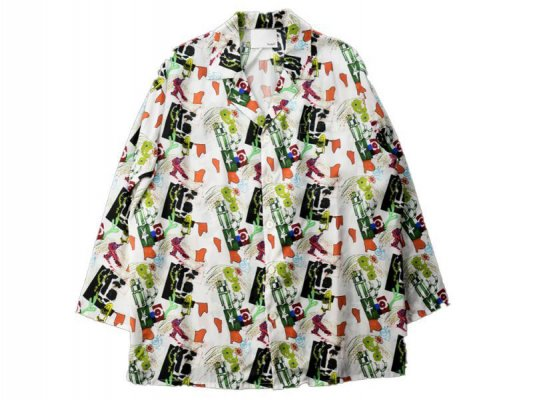<img class='new_mark_img1' src='https://img.shop-pro.jp/img/new/icons8.gif' style='border:none;display:inline;margin:0px;padding:0px;width:auto;' />【 Varde77 】 REEDOM GRAFFITI ALOHA SHIRTS LONG SLEEVE