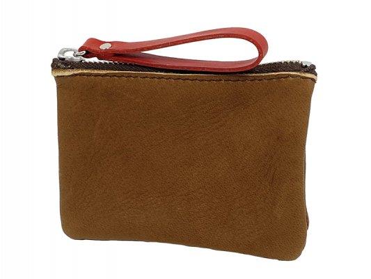 【RE.ACT】 Elk Leather W-Pocket Multi Case
