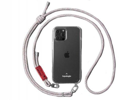 【topologie】 Verdon Phone Case -Clear- (Beige Melange)