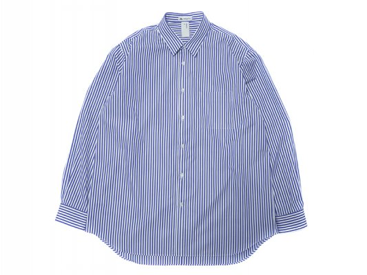 【BENINE】レギュラーカラーシャツ textile by THOMAS MASON