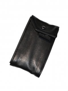 【bagjack x OVERRIVER Exclusive】  Card Carrier Leather (Black)
