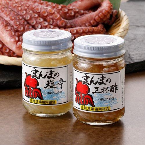 まんまの塩辛・三杯酢セット【送料無料/消費税込】