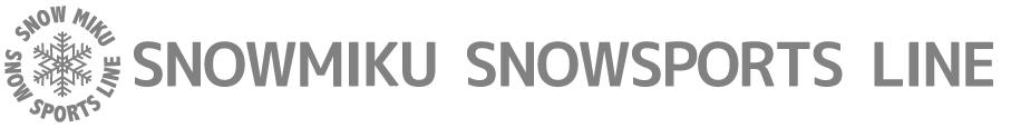 SNOW MIKU SNOW SPORTS LINE