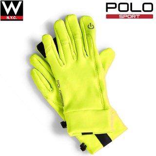 POLO SPORTS( ポロ スポーツ) スマートフォン タブレット対応 オールウェザー トレーニング グローブ 手袋