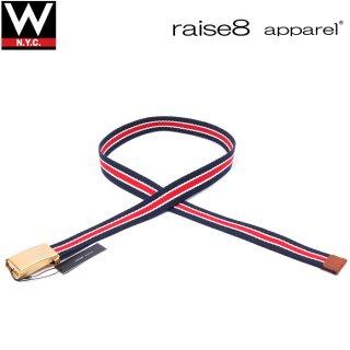 raise8apparel(ライズエイトアパレル) ボーダー コットン ベルト