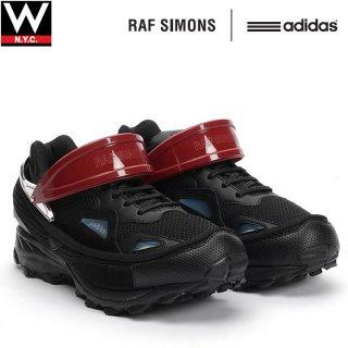 RAF SIMONS(ラフ シモンズ) × adidas(アディダス) ブラック レスポンス トレイル トレイナーズ ローカット スニーカー