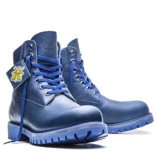 Bee Line(ビーライン) × Timberland(ティンバーランド) 6インチ プレミアム メンズ ブルー ブーツ