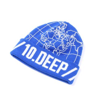 10DEEP(テンディープ) オリジナルグラフィック ニットキャプ
