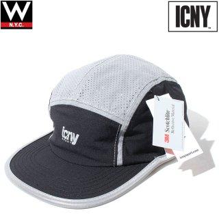 ICNY(アイシーエヌワイ) フラッシュ 5パネル ストラップバック キャップ