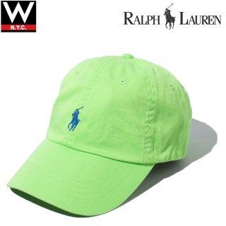 POLO RALPH LAUREN(ポロ・ラルフローレン) ポニーロゴ コットン キャップ