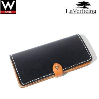 La Veriteing(ラ ベリティング) ビンテージ ジェニュイン レザー ロング ウォレット 長財布