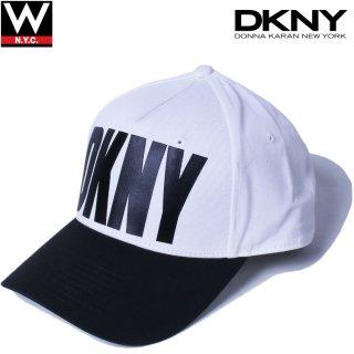 DKNY(ダナキャラン) オリジナルロゴ スナップバック キャップ