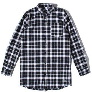 DRMTM(ドリームチーム) オリジナル ツーウェイ ジップアップ 長袖 シャツ