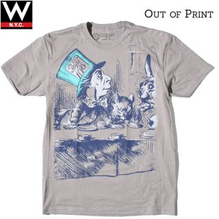 Out of Print(アウトオブプリント) アリス 半袖 Tシャツ