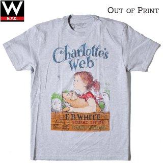 Out of Print(アウトオブプリント) シャーロットのおくりもの 半袖 Tシャツ