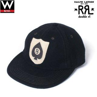 RRL(ダブルアールエル)  オリジナルロゴ ウール スナップバックキャップ