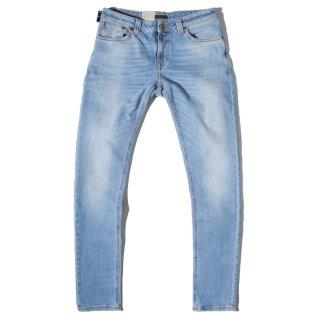 Nudie Jeans(ヌーディージーンズ) スキニーリン ブロンド オレンジ デニムパンツ