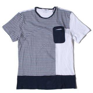 HAMAKI-HO(ハマキホ) オリジナル ボーダー 半袖 Tシャツ
