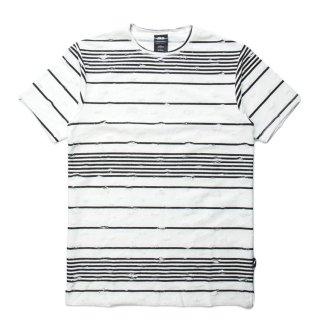 PUBLISH(パブリッシュ) パイル ボーダー 半袖 Tシャツ