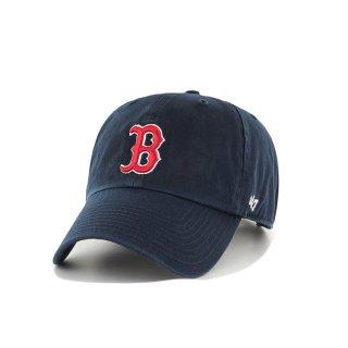 47brand(フォーティセブン ブランド) ボストン レッド ソックス '47 クリーン アップ 6パネル ストラップバックキャップ