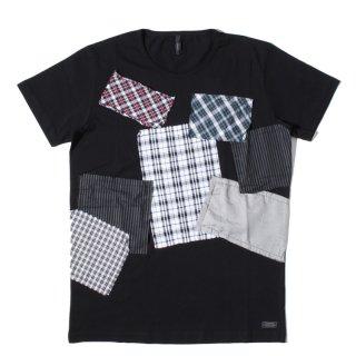 SSEINSE(センス) オリジナル パッチワーク  半袖 Tシャツ