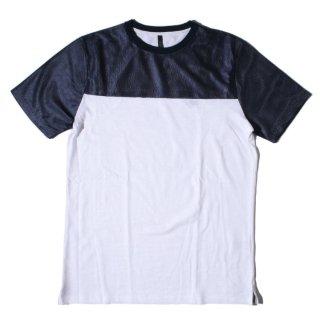 SSEINSE(センス) オリジナル バイカラー デザイン 半袖 Tシャツ