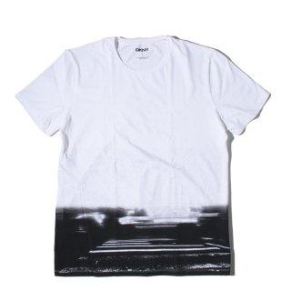 DKNY(ダナキャラン) オリジナル グラフィック プリント 半袖 Tシャツ