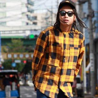 10 DEEP(10 ディープ) マンダリン ワークシャツ 長袖 シャツ