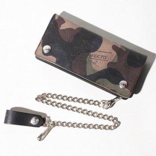 Schott (ショット) カモ ウォレット ロング 財布