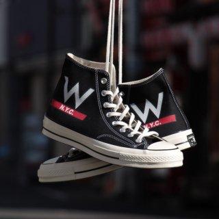 W NYC(ダブルエヌワイシー) × Converse USA(コンバース ユーエスエー) エクスクルーシブ 70年代 復刻チャックテイラー