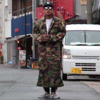 re:new(リニュー) ロング アーミー コート ジャケット【i】