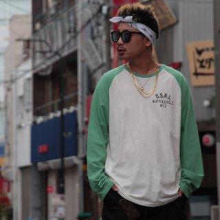 POLO RALPH LAUREN(ポロ・ラルフローレン) ラグランスリーブ オリジナル ロゴ 長袖 Tシャツ