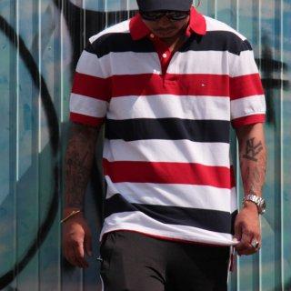 TOMMY HILFIGER(トミーヒルフィガー) オリジナルロゴ 半袖Tシャツ