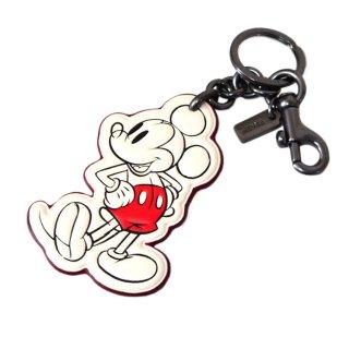 Disney(ディズニー) × COACH(コーチ) ミッキー キーホルダー