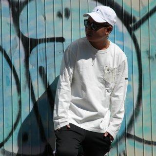 Schott (ショット) ディアポケット 長袖 Tシャツ