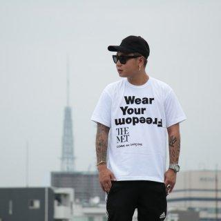 Comme des Garcons(コム デ ギャルソン) ウェア ユア フリーダム 半袖 Tシャツ