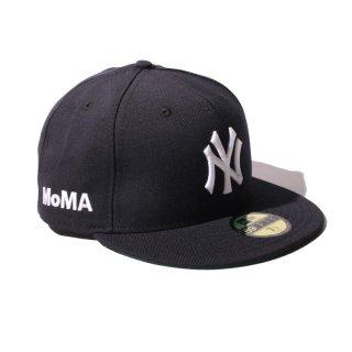 NEW ERA(ニューエラ) × MOMA(モマ)ニューヨークヤンキース フィフティナインフィフティー ベースボールキャップ グリーンブリム