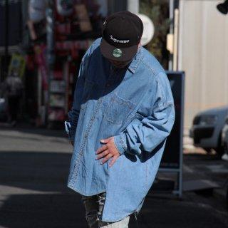 re:new(リニュー)リーバイス ヴィンテージ リメイク ワイド&ビック デニム シャツ<br>re:new Levi's Vintage Remake Big&Wide Shirts 【c】