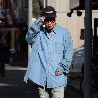 re:new(リニュー)リーバイス ヴィンテージ リメイク ワイド&ビック デニム シャツ<br>re:new Levi's Vintage Remake Big&Wide Shirts 【f】